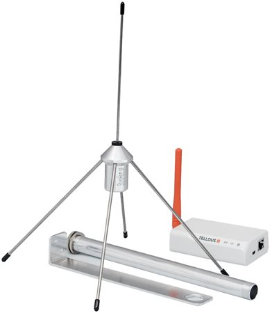 Högeffektiv antenn med väggfäste (433MHz, 3m)